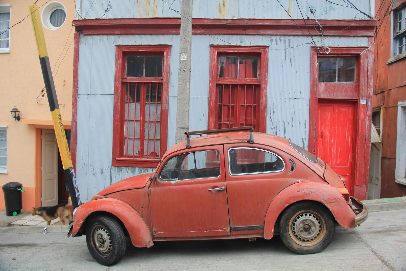 Jour 232 et 233 : Valparaiso, une ville colorée et perchée sur les collines…