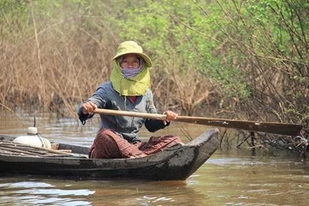 Jour 154 : Environs de Siem Reap – village flottant et forêt inondée