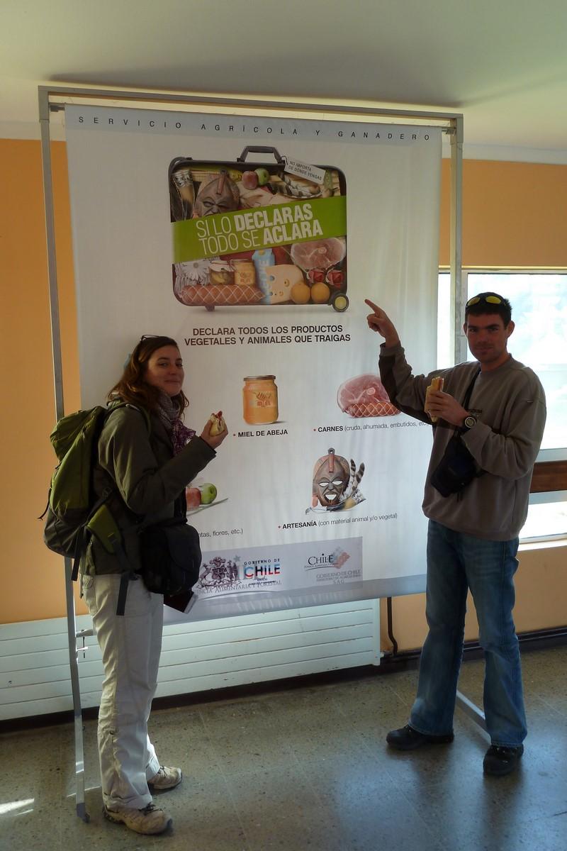 Jour 251 : Route vers Puerto Montt… ou comment improviser un casse-croute à la douane ?