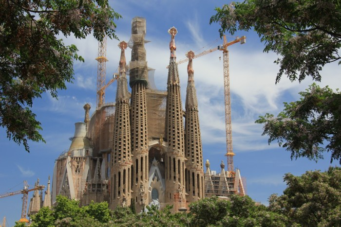 Sagrada Familia... still in progress !