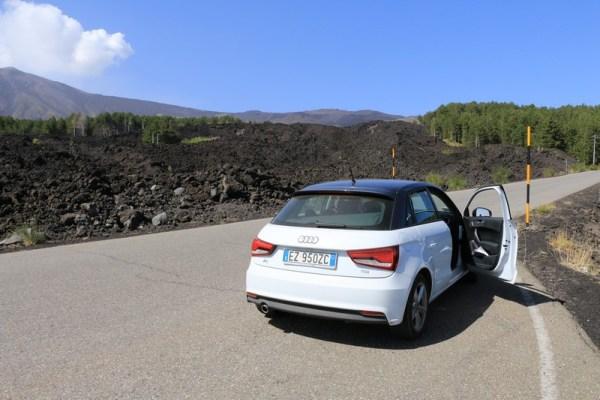 Sur les routes siciliennes, en route pour l'Etna :) !