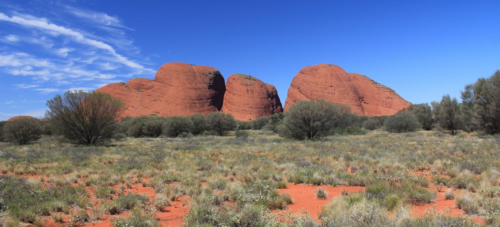 Jour 186 : Centre rouge #2 – Mont Olgas, Valley of the winds et coucher de soleil à Uluru !
