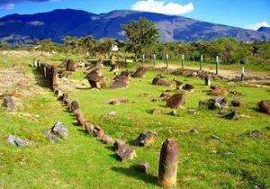 Les pierres du Parc Archéologique du Monquira