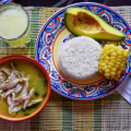 Ajiaco, plat traditionnel de Medellin