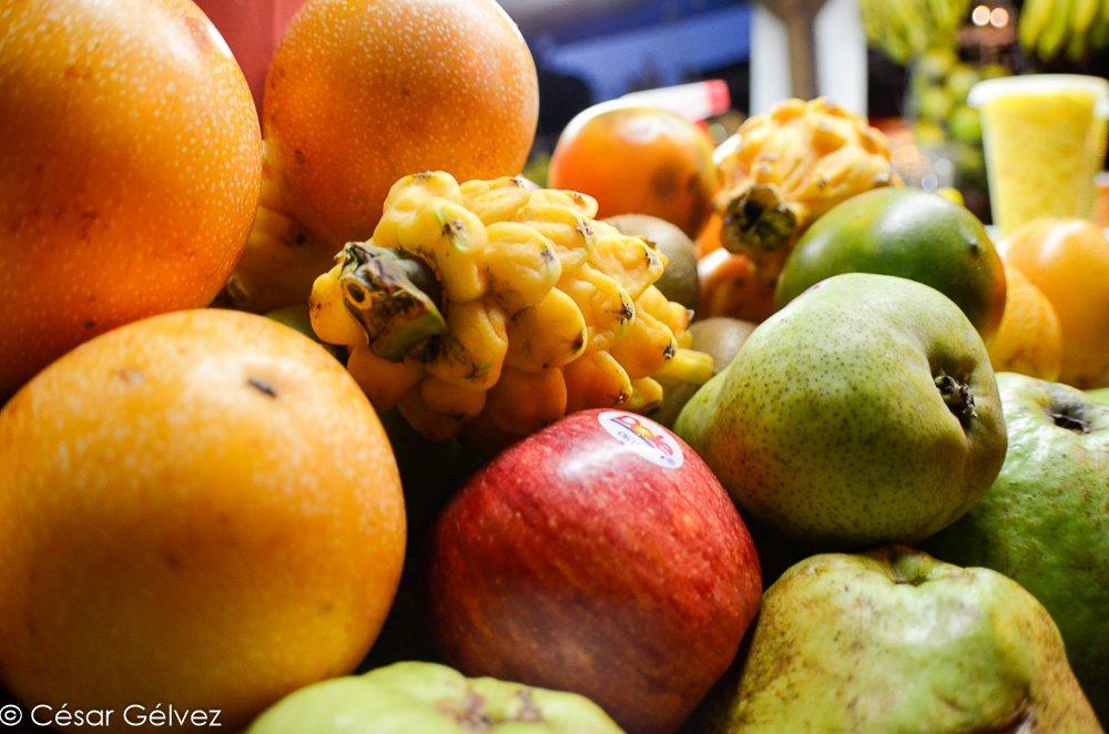 Fruits frais - spécialités sucrées de Colombie