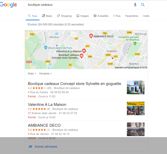 Capture google my business