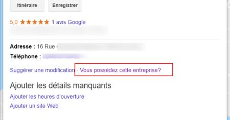 Comment revendiquer sa fiche Google My Business?
