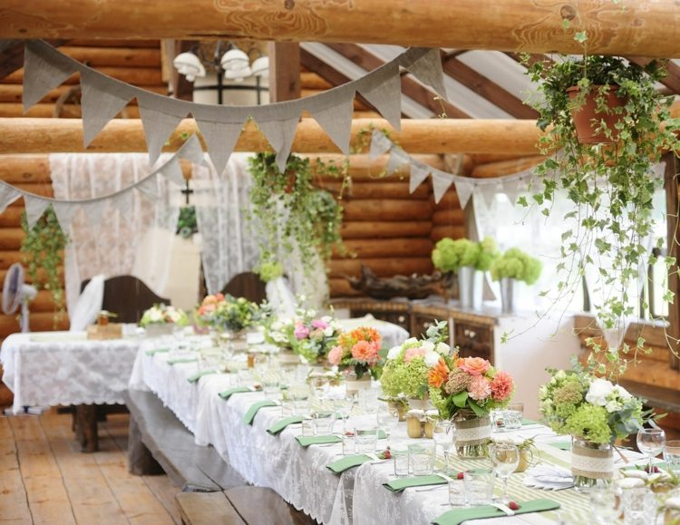 Deco Table Mariage Champetre Le Mariage