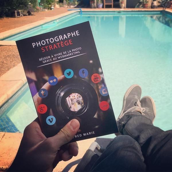 livre photographe stratège fred marie