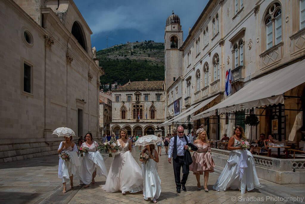 week long wedding