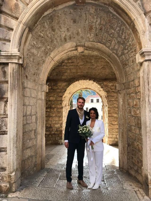 Winter elopement on Korčula