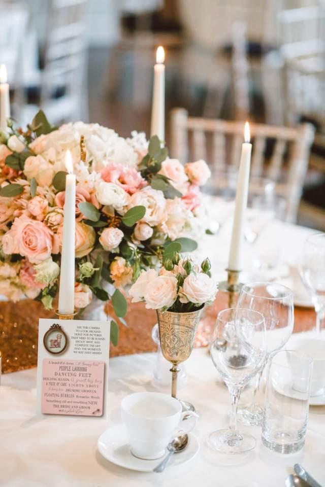 Choosing your wedding menu