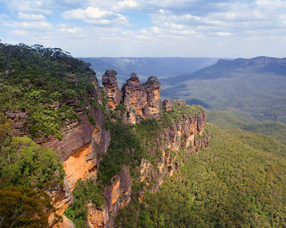 Blue Mountais near Sydney, Australia