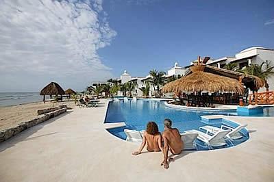 hidden beach resort au naturel