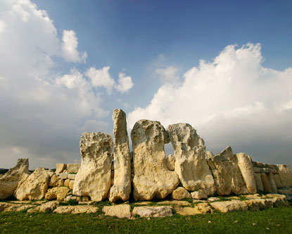 megalithic temples hagar qim qrendi malta