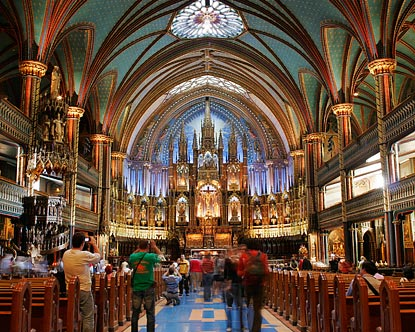 Notre Dame Basilica Notre Dame Montreal