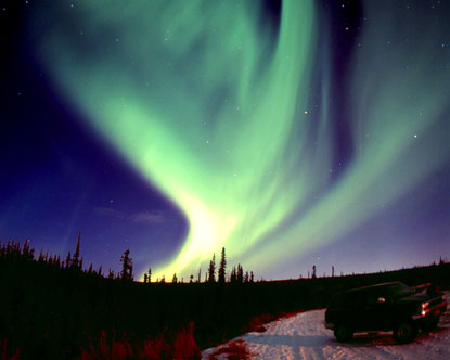 The Aurora Borealis in Alaska