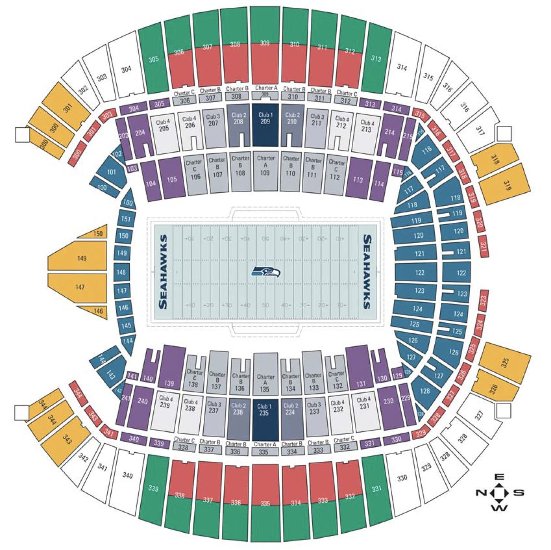 Seattle sounders seating chart erkal jonathandedecker com