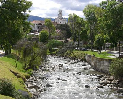 My birthplace in Ecuador