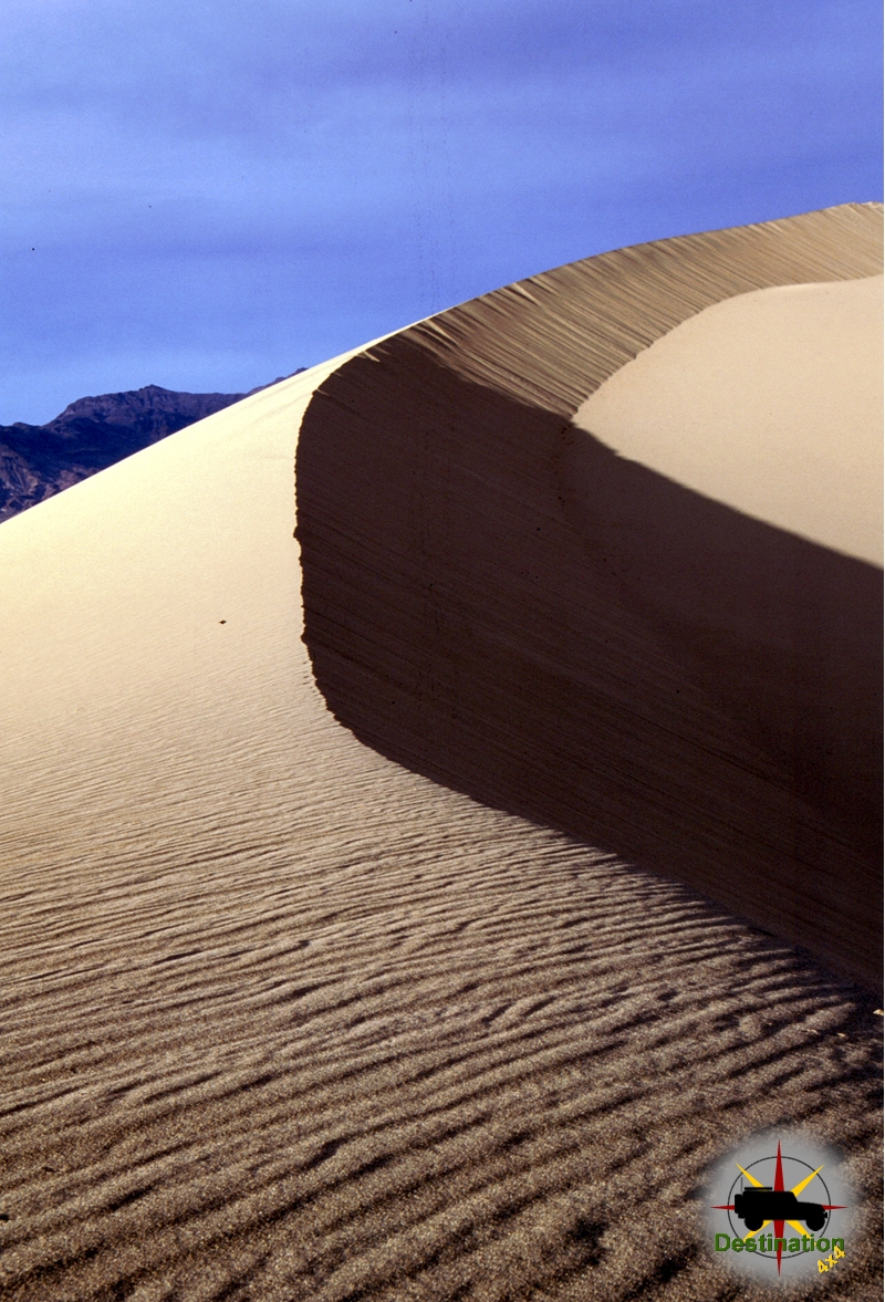 Sand dunes near Stovepipe Wells in Death Valley National Park
