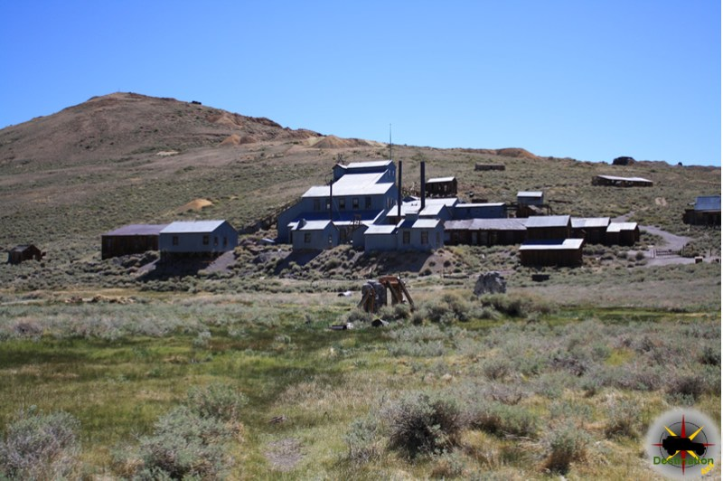The Standard Mill, Bodie, CA. Photograph by James L Rathbun