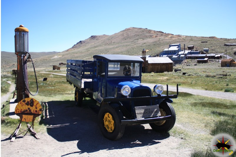 Bodie CA is a town lost in arrested decay. Photograph by James L Rathbun