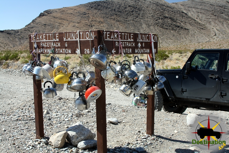 TeaKettle Junction lets you know you are starting to get close to the Racetrack.