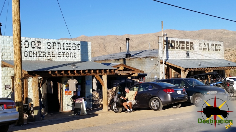 The Pioneer Saloon located in Goodsprings, Nevada is still open and quite busy