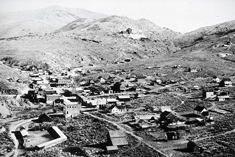 Aurora, Nevada as it existed in the 1800s was the Esmeralda County seat.