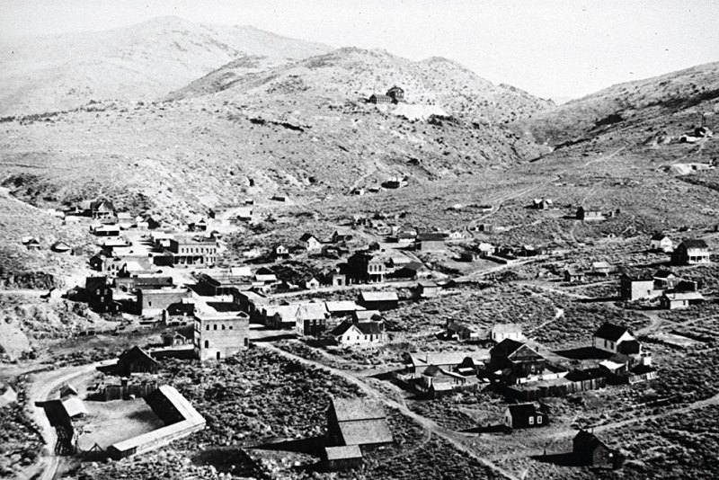 Aurora in Mineral County,NV in the 1930s