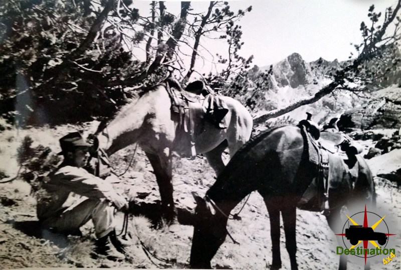 Camping and gold prospecting by horseback - Charles H Duffy
