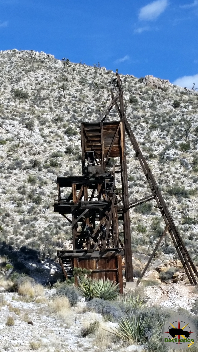 Evening Star Mine, Mojave, California - 2015 Photo by James L Rathbun