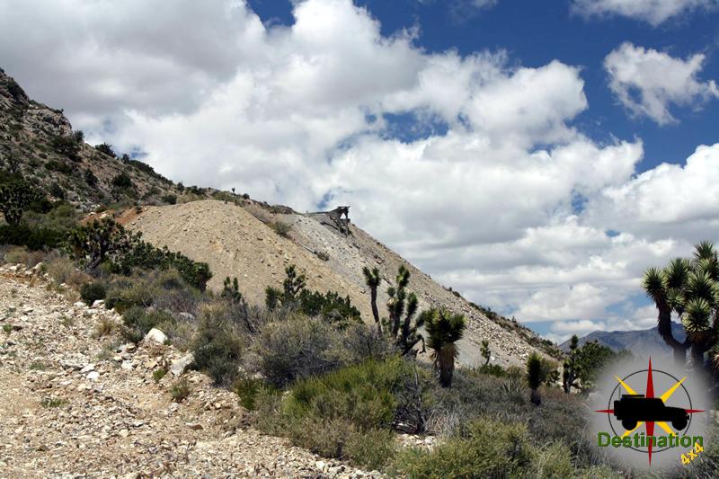 Kokoweef Mine from below - 2015