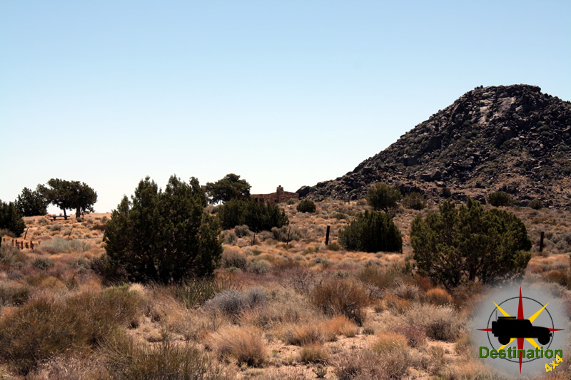 Bert Smith's Cabin located in the Mojave National Reserve
