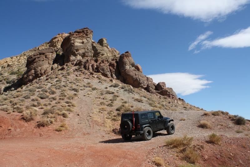 Heading into Titus Canyon, Death Valley,