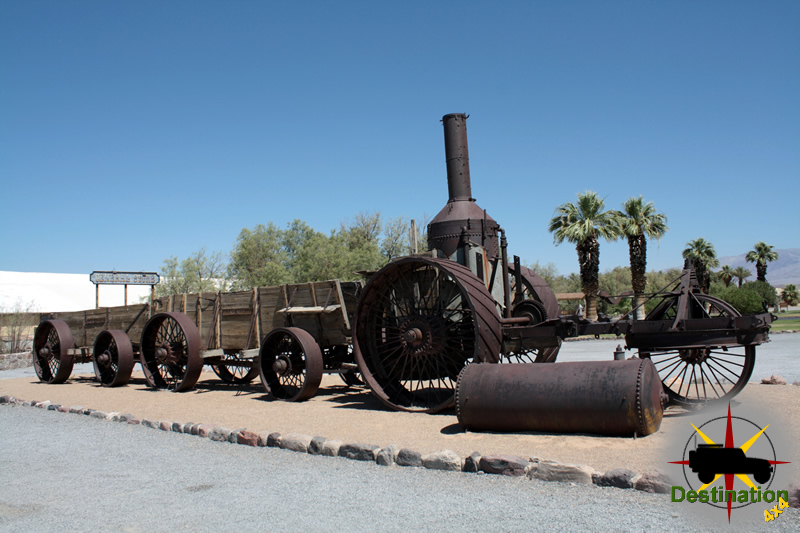 Furnace Creek is an oasis of civilization within Death Valley