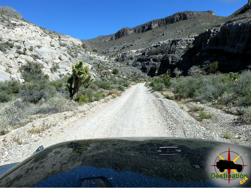 Entering Peek-a-boo Canyon on the Mormon Wells Road.