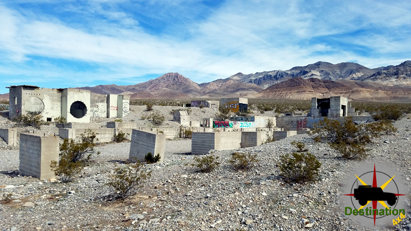 Carrara Nevada is falling the vandalism and time.  Photo by James L Rathbun
