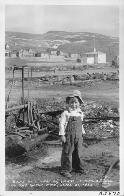 """Bodie Bill"" - Age 2 1/2 years - Firebug of the Bodie Fire, June 23, 1932"