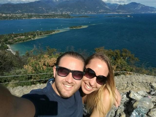 Lake Garda getaway - Enjoying the stunning views from La Rocca Manerba