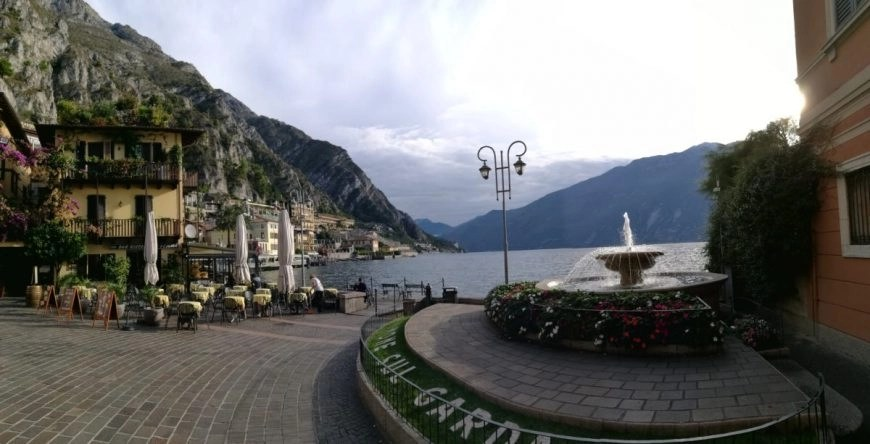 Lakeside views at Limone Sul Garda