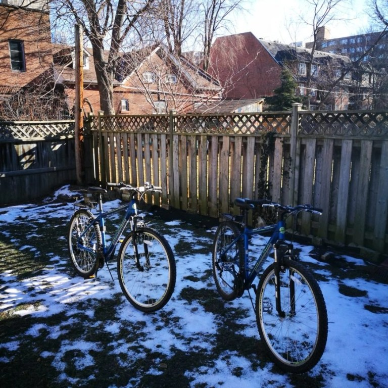 Taking used bicycles from Canada to Cuba - Marco & Polo almost ready for their Cuba cycling expedition!