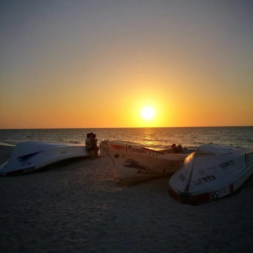 Destination Addict - Stunning sunsets in Celestún,  Mexico