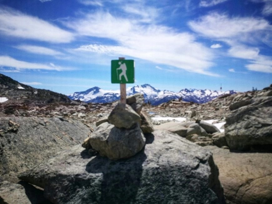 Destination Addict - At the start of the Half Note Trail, Whistler, British Columbia, Canada