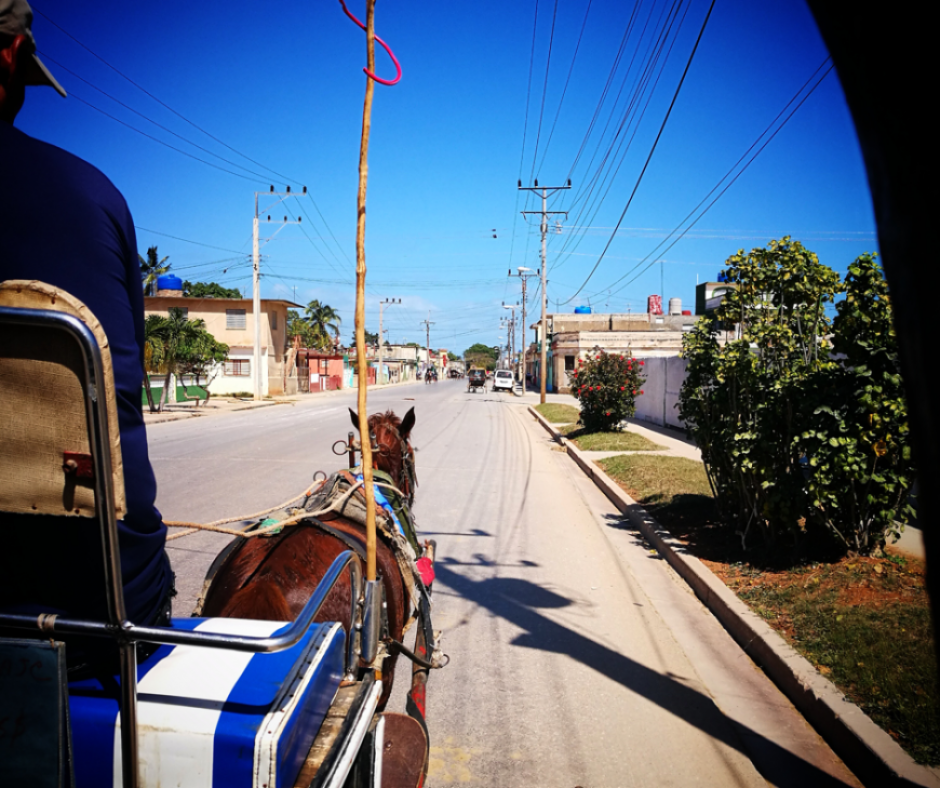 Destination Addict - Taking a horse drawn carriage on the streets of Cárdenas, Cuba