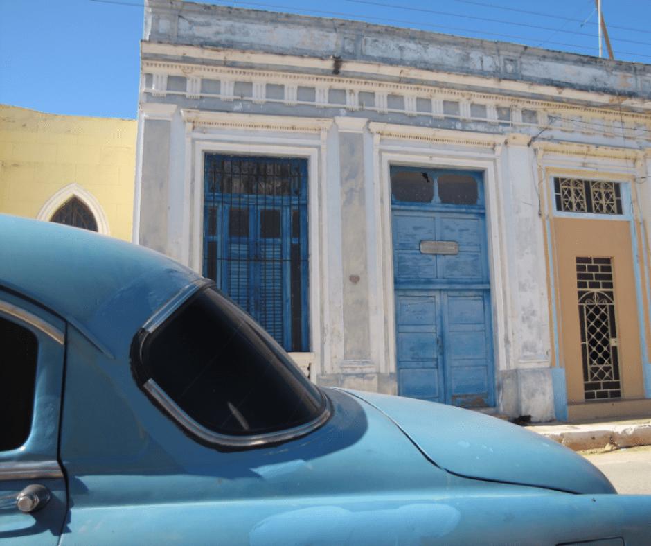 Destination Addict - Classic car on the streets of Cárdenas, Cuba