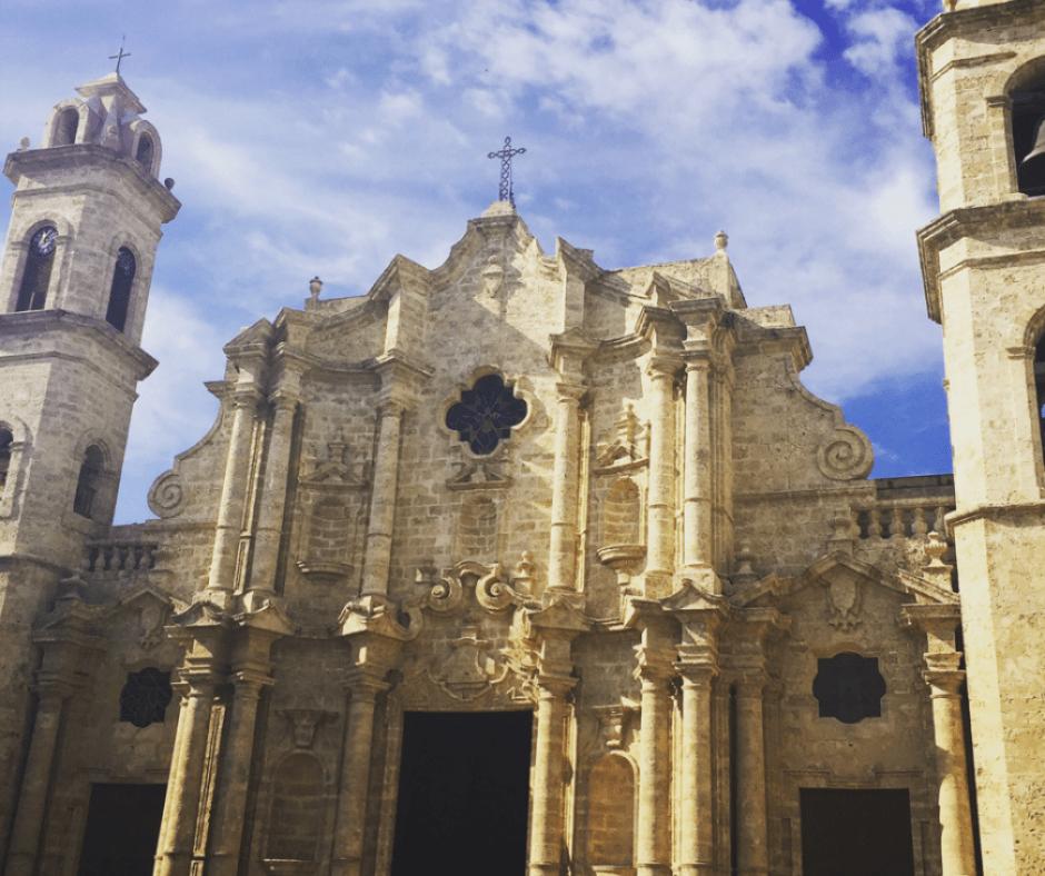 Destination Addict - La Catedral, Havana, Cuba