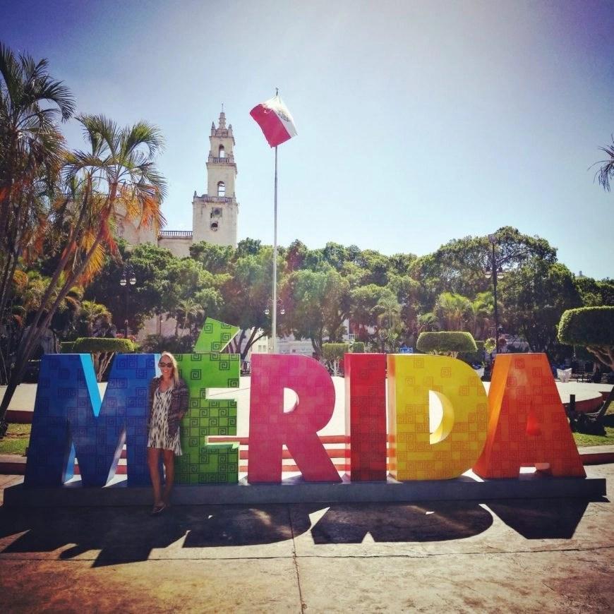 Destination Addict - Plaza Grande, Merida's main square