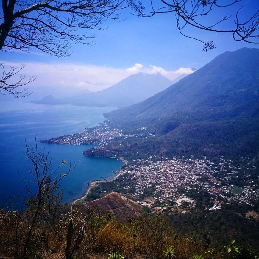 Destination Addict - Stunning views from the Indian Nose viewpoint, Lake Atitlan, Guatemala