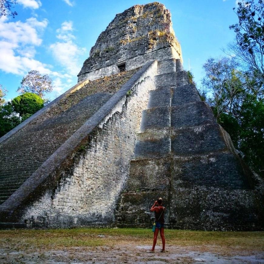 Destination Addict - Feeling tiny against the ruins of Tikal, Guatemala